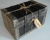 Memory Box / Wedding Keepsake Trunk / Love Letter Box / Momentum Box / Collectibles Box / Trinket Box / Rustic Wooden Box / Wooden Trunk