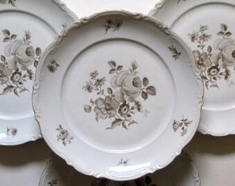 Mitterteich Charming Barbara Set of 4 Dinner Plates