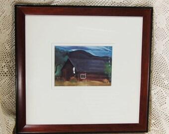Georgia O'Keefe Barn Print