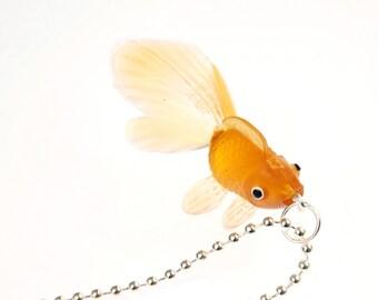 [BUNDLE] Fish Koi goldfish chain rubber orange brown
