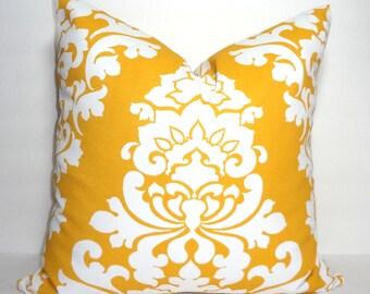 Golden Yellow Pillow Etsy