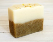 Calendula and Tea Tree All Natural Handmade Soap with Shea Butter - Tea Tree Soap - Natural Soap
