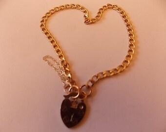9ct Gold Charm Bracelet DAINTY