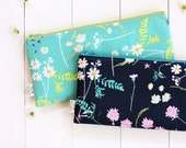 Zipper Pouch, Pencil Pouch, Supply Bag, Make Up Bag, Zipper Bag, Pencil Case, Floral Bag, College, School Supplies, Teens, Women, Organize