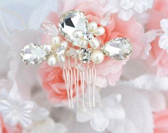 SALE SWAROVSKI wedding bridal vintage style crystal head piece