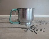 Foley Four Sifter Turquoise Foley Sifter Turquoise Kitchen Chrome Kitchen Mid Century Kitchen Shabby Decor Farmhouse Kitchen