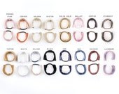 Leather Hair Tie. Hair Accessories Elastic for hair and Wrist. Hair Elastic. Hair Ties. Leather hair Accessories.