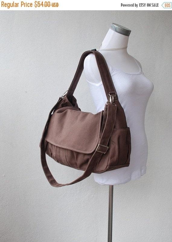 Halloween SALE - 30% Pico in Cinnamon (Water Resistant) Laptop / Shoulder bag / Messenger Bag / Handbag / Wallet /Diaper Bag/ School Bag/ Wo