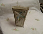 Bird Wall Pocket Made in England Staffordshire Pottery