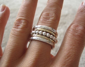 Sterling Silver Stacking Ring - Made to Order