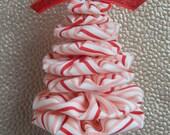 Cotton Candy Christmas Yo Yo Ornament