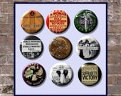 """Suffrage Votes for Women Suffragette 9  Pinback 1"""" Buttons Badges Pins"""