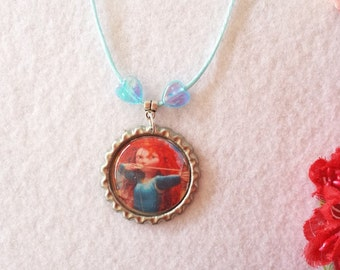 10 Merida, Brave Necklaces Party Favors.
