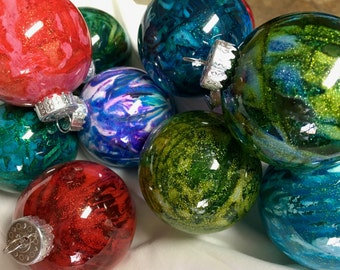 Create your own Beautiful Christmas Ornaments