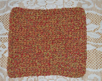 Crochet dishcloth  All Cotton