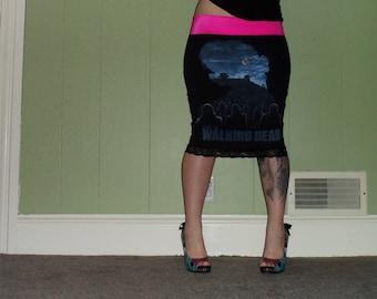 Walking Dead - Zombie Parade - Black Pencil Skirt