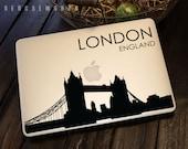 London Bridge Skyline Macbook Decal 4 | Macbook Sticker | Laptop Decal | Laptop Sticker | Car Sticker
