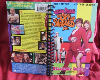 Austin Powers The Spy Who Shagged Me VHS notebook