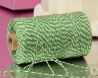 Green & White Duo 4-ply 100% Cotton Baker's Twine (Free Shipping!)