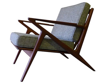 mid century Modern styled LOUNGE CHAIR