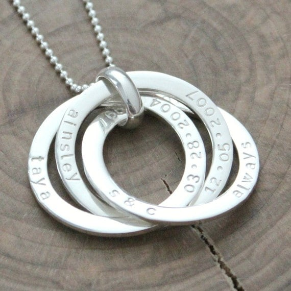 Beautiful sterling silver rings - Sterling silver pendant necklace