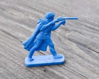 Vintage Soviet Russian plastic toy Soldier.