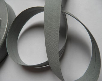 Biais coton replié – gris (col 623)– 3m
