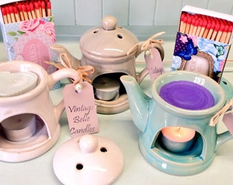Teapot Oil Burner gift set