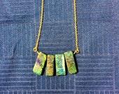 Lapis Lazuli Long Necklace