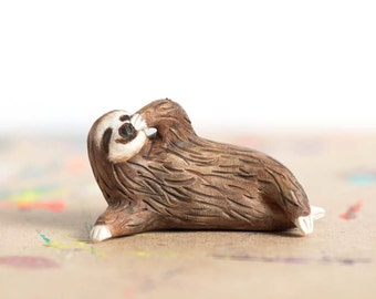 Le Pondering Sloth Totem - Made to Order