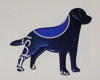 LABRADOR  DOG MAGNET - Pepsi Cola Soda Can
