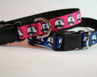 Natty Boh Inspired dog collar, Baltimore dog collar, dog gifts, pet gifts, pet accessory, Bozies Bags