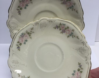 Rosenthal saucer reduced 50% due to fading K2879 Rim Saucer