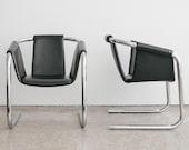 Pair of Mid Century Italian Sling Chairs / Zermatt