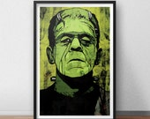 Frankenstein 12 x 18 Inch Print