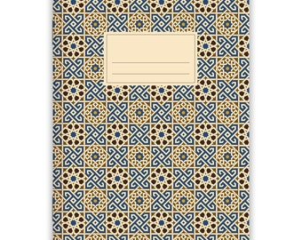 Notebook Stapled A5 Moroccan Pattern No. 3