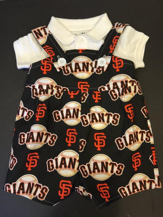 MLB San Francisco Giants Baby Infant Toddler Boys Jumper