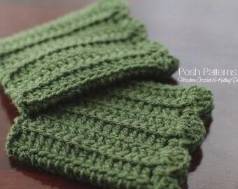 Crochet Patterns - CROCHET PATTERN - Boot Cuffs - Boot Cuffs Crochet Pattern - Boot Toppers - Crochet Boot Cuffs Covers - Ladies Teen Girls