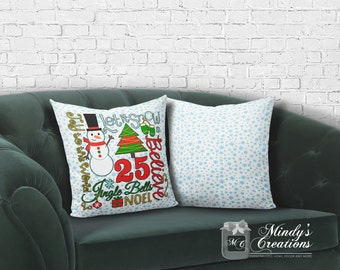 Christmas/Personalized Throw Pillow