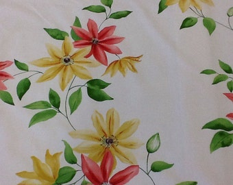 Sanderson Wisley cotton print fabric by the metre