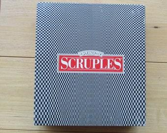 Scruples: A Question of Scruples Game Milton Bradley
