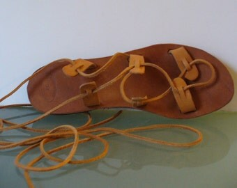 Made in Greece Sandals Size 37