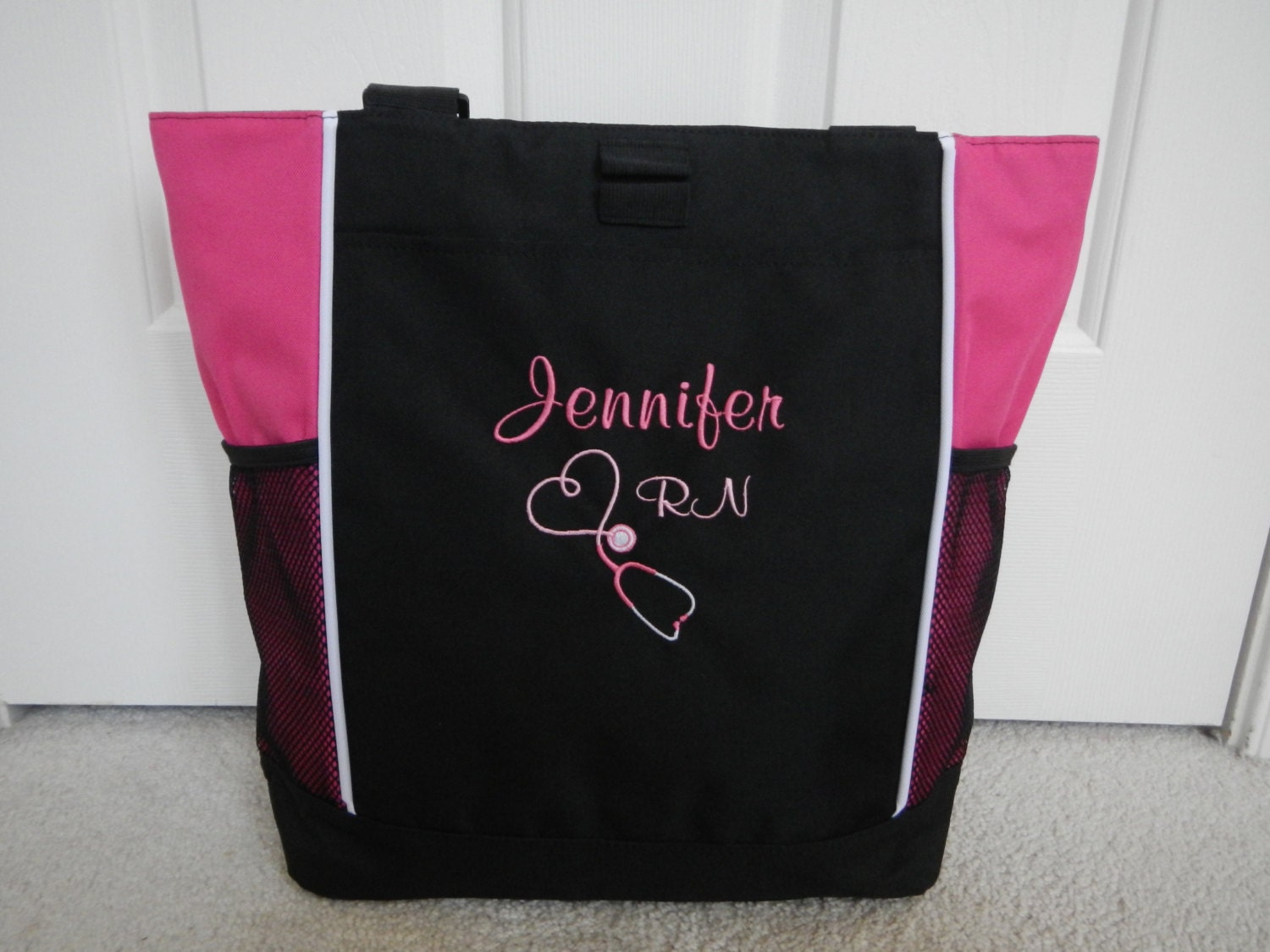 tote bag personalized student rn bsn cna lvn by