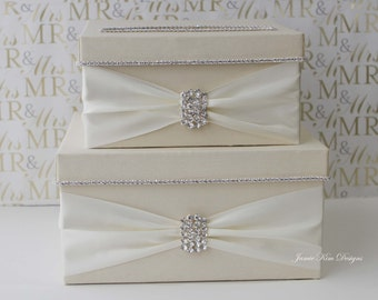 Wedding Card Box, Money Box, Wedding Gift Card Money Box  - Custom Made to Order