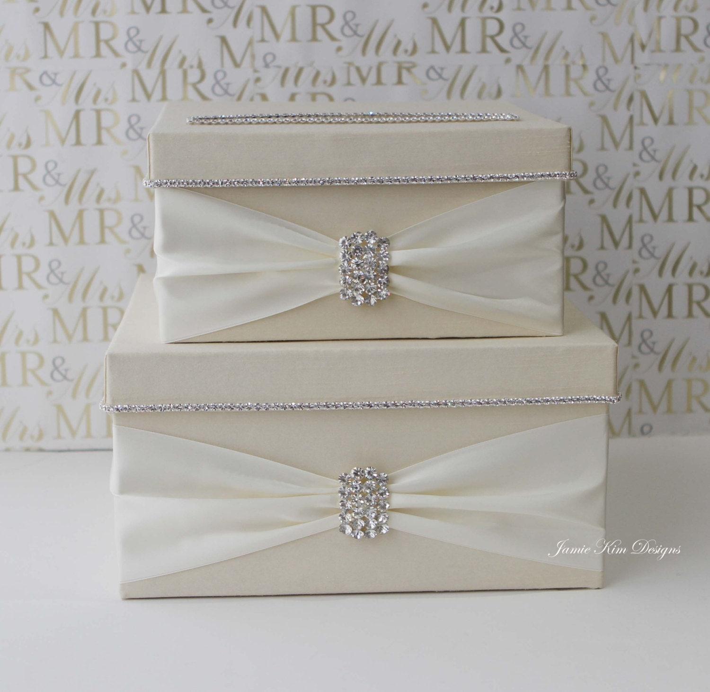 Wedding Gift Card Or Cash : Wedding Card Box Money Box Wedding Gift Card Money Box