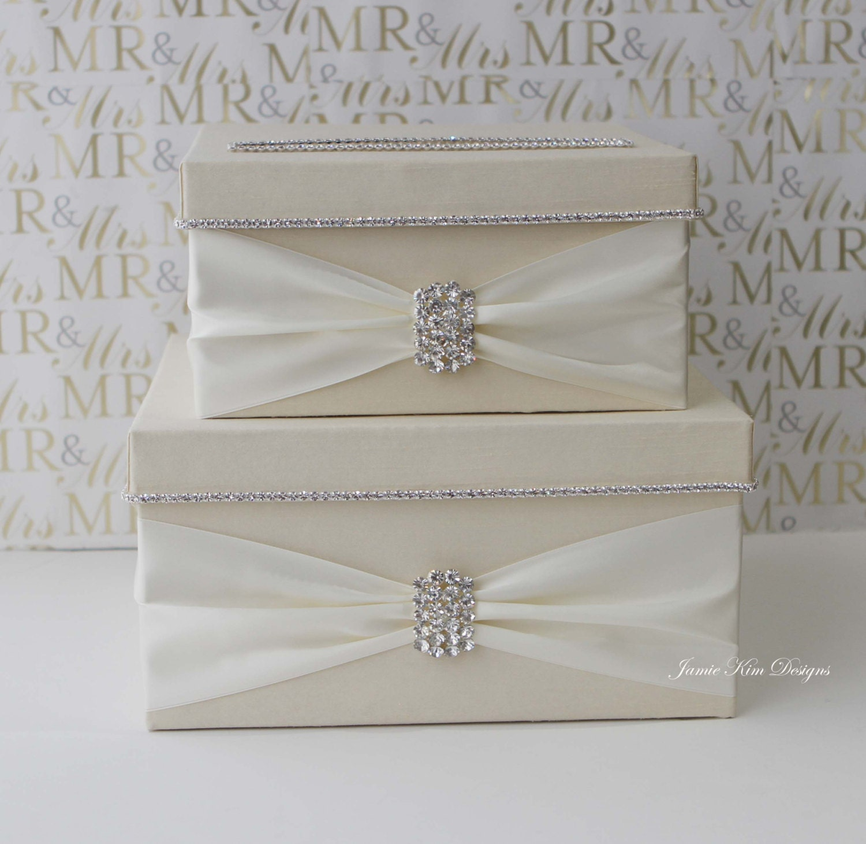 Wedding Gift Cards For Money : Wedding Card Box Money Box Wedding Gift Card Money Box