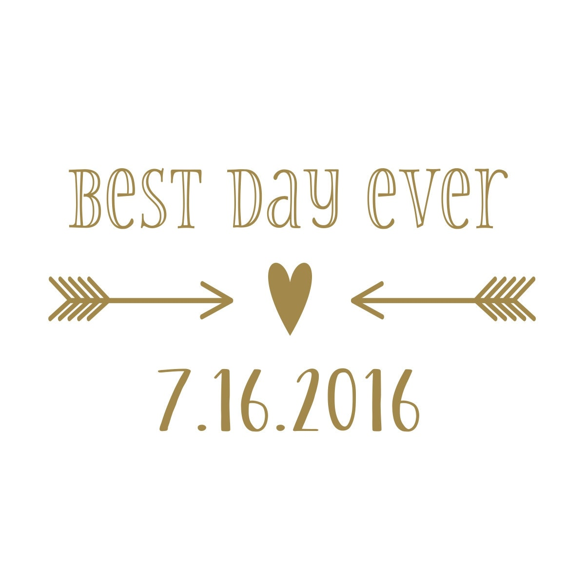 Best Time Of Day For Wedding: Custom Wedding Vinyl Decal Set For Cornhole
