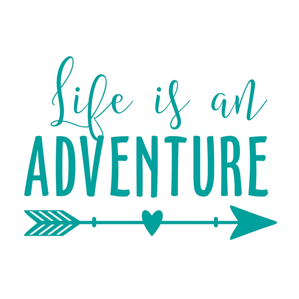 Life Is An Adventure Wall Decal Adventure Awaits Wall