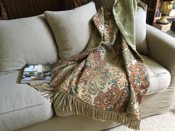 Custom Throw Blanket Moroccan Medallion Tapestry Throw