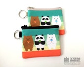 We Bare Bears Zipper Bags 2 sizes (Made to Order)